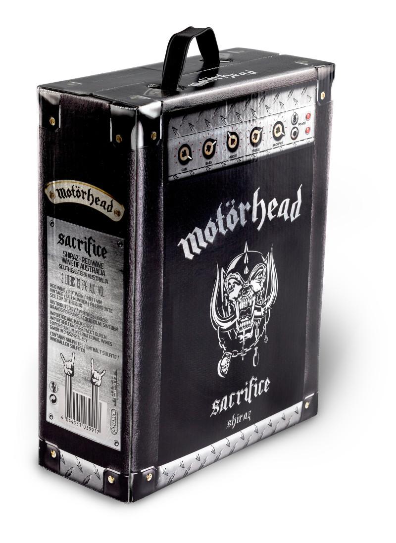 motörhead sacrifice shiraz bag in box wine amp